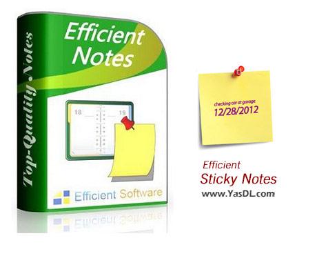 Efficient Sticky Notes Pro 5.50 Build 536 Crack