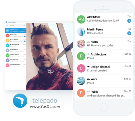 Messenger تلپادو Telepado 1.0.26.10 For Android + Windows
