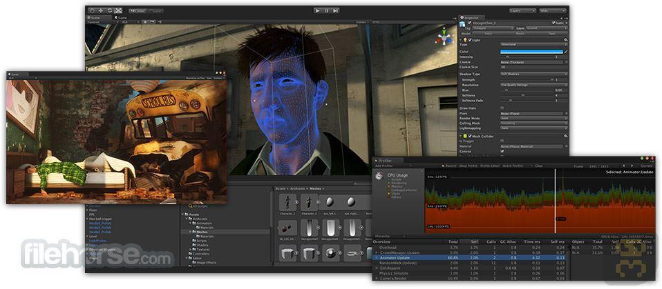 Unity Pro 2017.3.0f1 - Game Design Software Crack