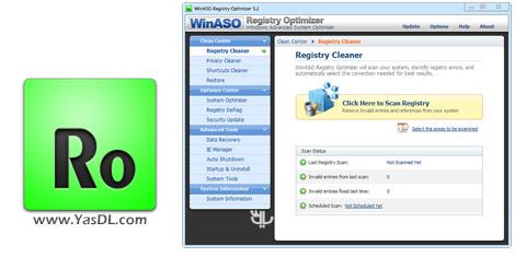 WinASO Registry Optimizer 5.3.0 + Portable Crack