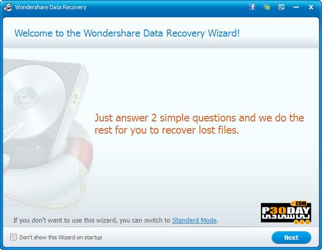 Wondershare Data Recovery 6.5.0.8 - Professional File Recovery Crack