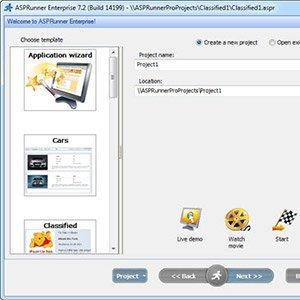 ASP Creator Pages With XLineSoft ASPRunner Enterprise 9.1.24916 Crack