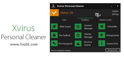 Xvirus Personal Cleaner Pro 3.1.1 Crack