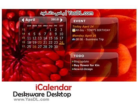 Desksware Desktop iCalendar 3.3.12.537 Crack