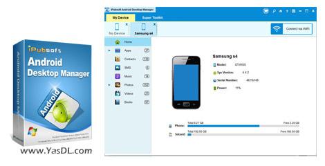 iPubsoft Android Desktop Manager 3.7.3 Crack