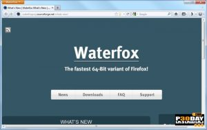 Waterfox 55.0.2 - The New Version Of The Browser Firefox Crack